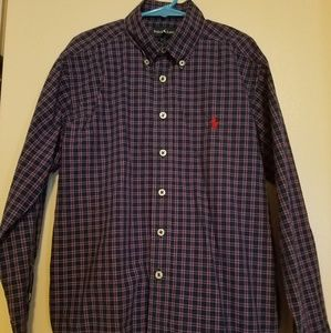 Polo Ralph Lauren boys button up shirt